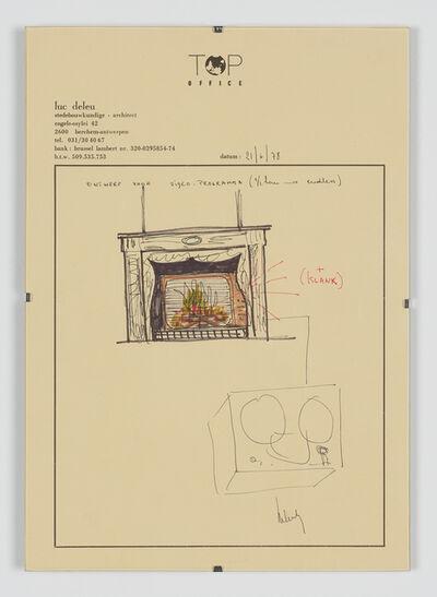 Luc Deleu & T.O.P. office, 'Ontwerp voor Videoprogramma', 1978