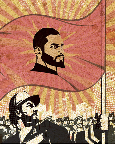 Mahmoud Obaidi, 'Propaganda-7 (The Replacement Series)', 2013-2014