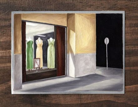 Lisa Graziotto, 'Window Shopping'