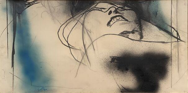 Renato Guttuso, 'Portrait of a woman', 1960-1975