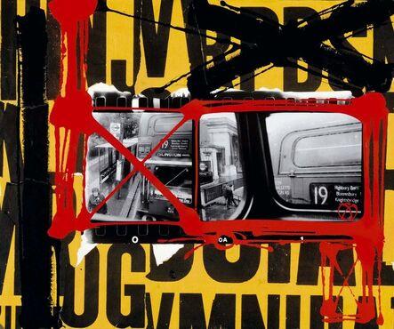 William Klein, 'Bus 19, London 1989-2003', 2019