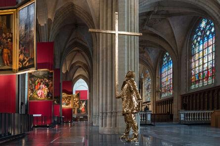 Jan Fabre, 'The man who bears the cross', 2015