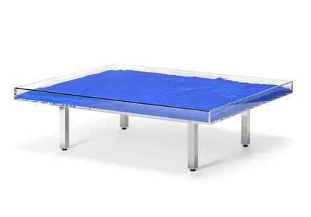 Yves Klein, 'Table Bleu Klein TM ou (Table IKB®)', 1963