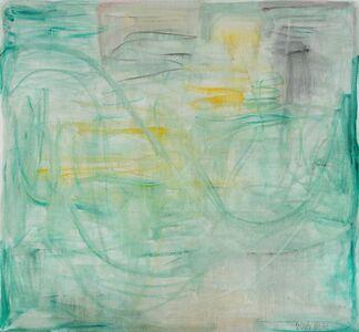 Zhang Enli 张恩利, 'Yellow-Green', 2016