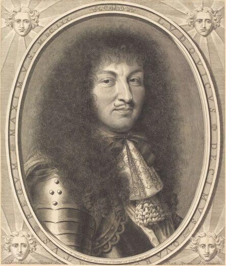 Robert Nanteuil, 'Louis XIV', 1670