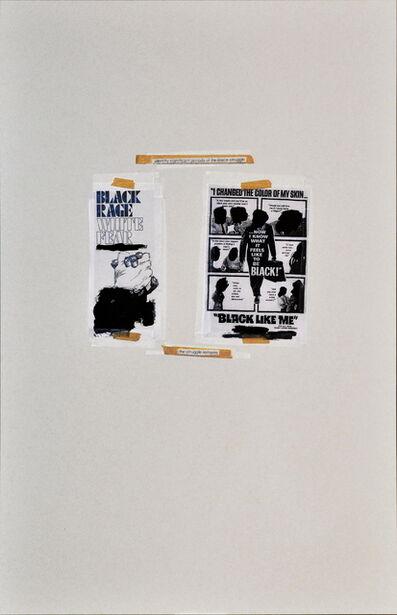 Dominique Duroseau, 'Black White/ White Black Inequalibrium', 2016