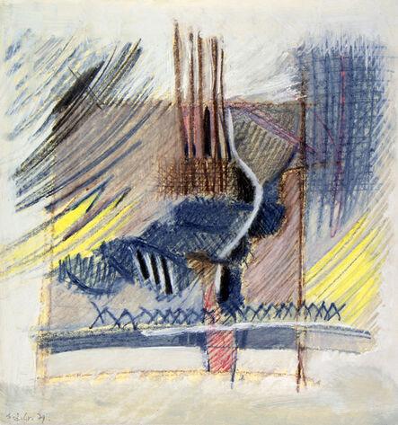 Hellal Zoubir, 'Blue Dream', 1979