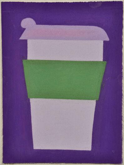 Julian Martin, 'Untitled (Purple and Green Coffee Cup on Purple)', 2010