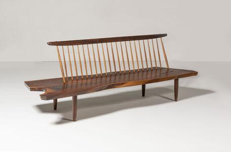 George Nakashima, 'Conoid Bench', 1974