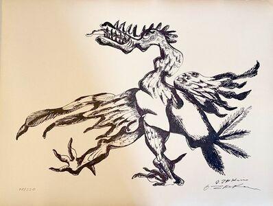 Ossip Zadkine, 'The Labours of Hercule - The Stymphalian bird', 1960