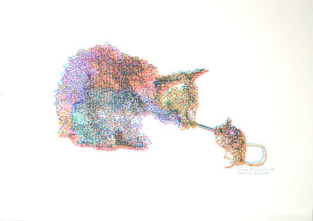 Patrick Lichty, 'RIC: Random Internet Cat #8', 2014