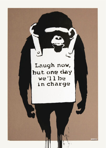 Banksy, 'Laugh Now Signed ', 2003