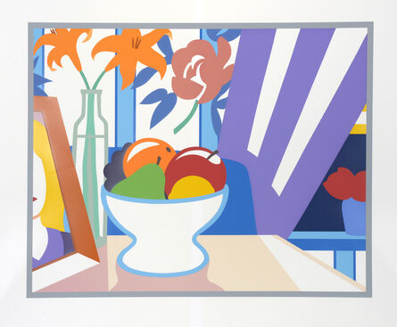 Tom Wesselmann, 'Still Life with Lilies and Mixed Fruit', 1997-1998