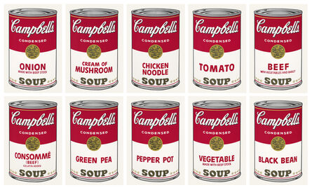 Andy Warhol, 'Campbell's Soup I ', 1968