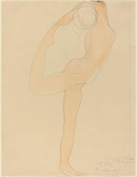 Auguste Rodin, 'Dancing Figure', 1905