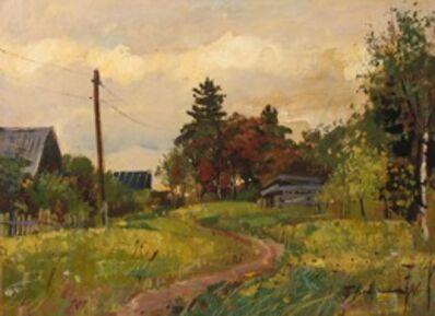 Petr Petrovich Litvinsky, 'Village', 1996