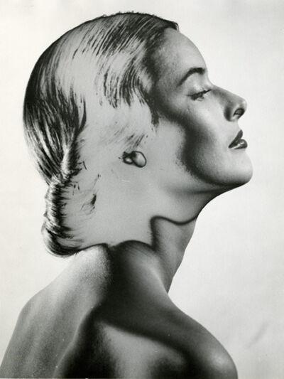 Erwin Blumenfeld, 'Solarized Portrait, NYC', 1946