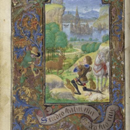 Lievan van Lathem, 'Saint Hubert', 1469