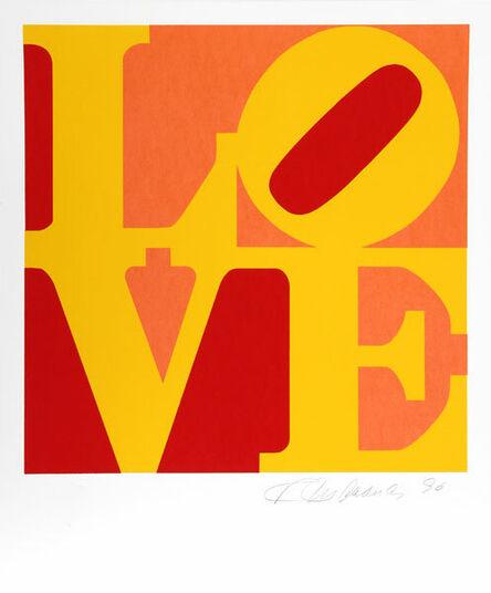 Robert Indiana, 'The Book of Love 10', 1996