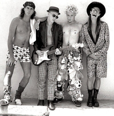 Drew Carolan, 'Red Hot Chili Peppers - Higher Ground ', 1989