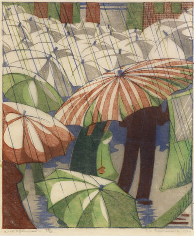 Ethel Spowers, 'Wet Afternoon', 1929