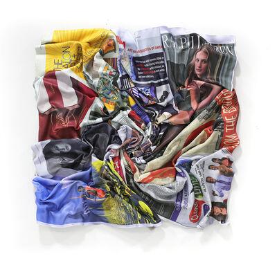 Paul Rousso, 'New York Times Swirl #17', 2020
