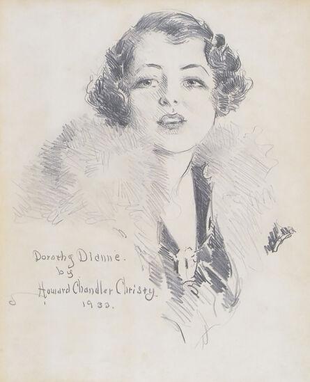Howard Chandler Christy, 'Portrait of Broadway Star Dorothy Dionne', 1933