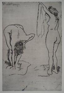 Suzanne Valadon, 'Deux femmes ŕ la toilette', 20the Century