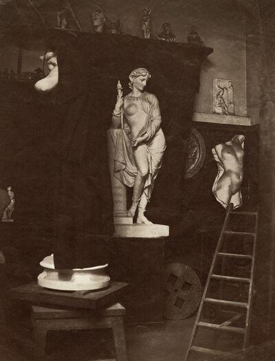 Edmond Lebel, 'View of the Artist's Studio', 1860c/1860c