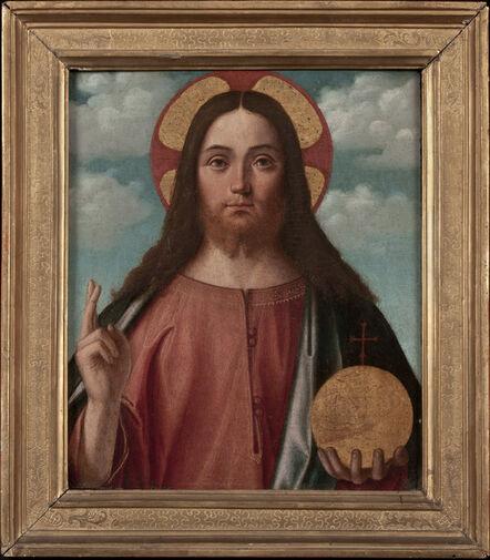 Vittore Carpaccio, 'Christ Blessing (Christ as Salvator Mundi)', 1507-1508