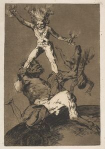 Francisco de Goya, 'SUBIR Y BAJAR (RISE AND FALL)', 1799