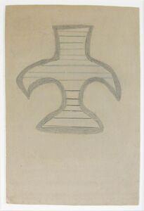 Bill Traylor, 'Basket Form', 1939