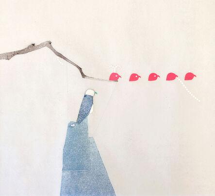 Fan Cheng, 'Elan bleu-9', 2014