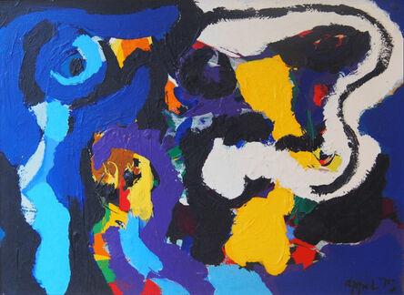 Karel Appel, 'Blue Bird', 1975