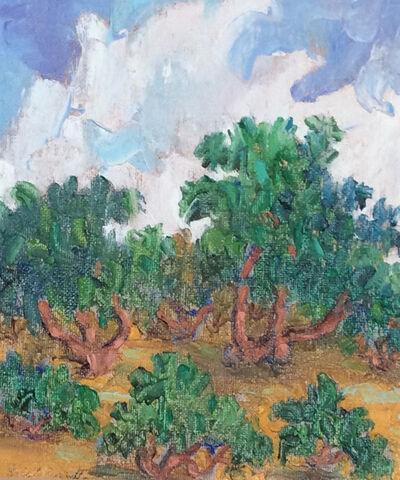 Eric Girault, 'Peach Field', 2001