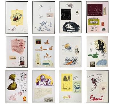 Claes Oldenburg, 'Notes', 1968
