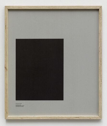 E.B. Itso, 'Loop Holes (Carl August Lorentzen, September 5. 1949, Horsens State Prison, Denmark, hole measures 31 x 40 cm)', 2014