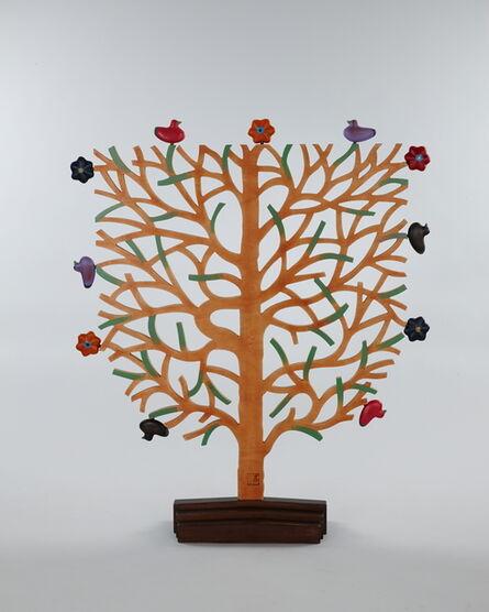 Choi Seung Chun, 'Bird anf Tree-Retro S1306', 2013