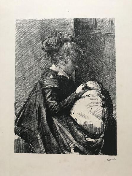 Albert de Belleroche, 'La Couseuse ', 1901