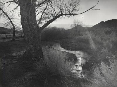 Ansel Adams, 'The Black Sun, Tungsten Hills, Owens Valley, California', 1939