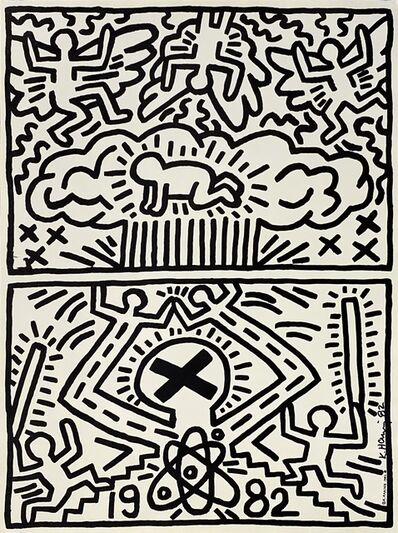 Keith Haring, 'No Nukes, Poster for Nuclear Disarmament', 1982