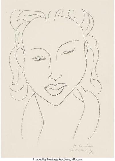 Henri Matisse, 'Chinoise au visage de face', 1947
