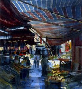 Alexander Creswell, 'Hong Kong, Dried Fish Stall'
