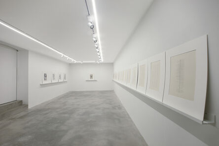 Jan Schoonhoven, 'Da zero a infinito', 2017