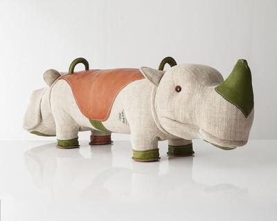 "Renate Müller, 'Double-face ""Therapeutic Toy"" Hippopotamus-Rhinoceros', 2013"