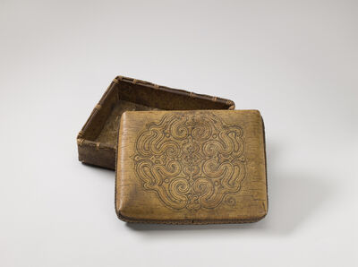 'Box with lid', End of 19th century