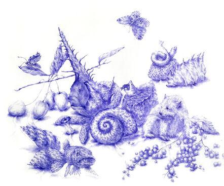 Joo Lee Kang, 'Still Life with Shells #3', 2014
