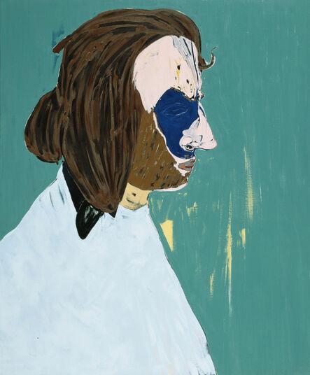 Nicola Tyson, 'Bearded Artist', 2005