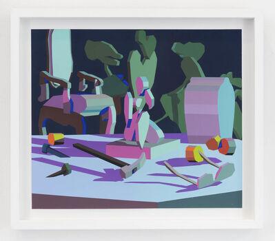 Jonathan Chapline, 'Still Life III (pink frame)', 2018