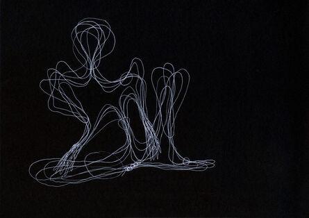 Tatiana Grinberg, 'distancia recoberta_ensaio_partitura_dr_corte_ V_C [E]', 2014